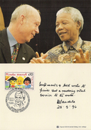 1997 Austria Österreich  SOS Kinderdörfer Karte  Nelson Mandela