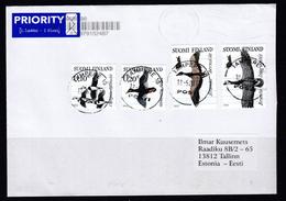Finnland 2017. Brief Finnland- Estland.