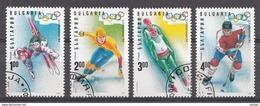 Bulgarie 1994 Mi.Nr: 4103-4106 Olympische Winterspiele, Lillehammer  Oblitèré / Used / Gebruikt