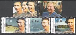 ZES Seychelles 1992 40th Anniv. Of Queen Elizabeth II Accession MNH CV £6.70