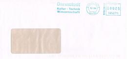Deutschland Absenderfreistempel Darmstadt - Kultur, Technik, Wissenschaft - Meterstamp - [7] République Fédérale