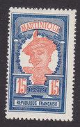 Martinique, Scott #72, Mint Hinged, Martinique Woman, Issued 1908 - Martinique (1886-1947)