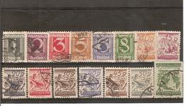 AUTRICHE PETIT LOT DE TIMBRES DES ANNEES 1915-1917 - Used Stamps
