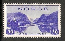 004243 Norway 1938 30ore MH