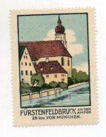 Y5776/ Reklamemarke Fürstenfeldbruck Litho Ca.1920 - Advertising