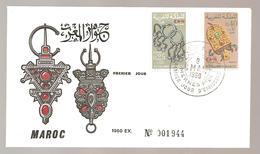 FDC ANNEE 1969  MAROC