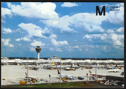 Germany Munich 1994 / Airport / Flughafen / Terminal And Tower - Aerodromes
