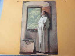Pap Priest Priester Monk Mönch Szerzetes - Ansichtskarten