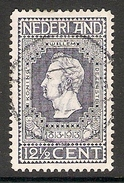004249 Netherlands 1913 Centenary 12 1/2c FU Perf 11.5 - Oblitérés