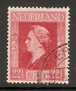 004251 Netherlands 1946 22 1/2c FU