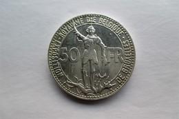 Belgique 50 Francs, 1935 Railway Centennial FR. - 1934-1945: Leopold III