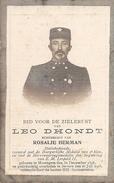 DP. LEO DHONDT  ° MOOREGEM 1848 - + BEVERE 1918 - STATIEBEDIENDE