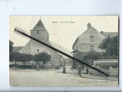 CPA -  Vert  - Place De L'église - France
