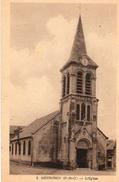 75 Ta   62 Meurchin L'église (vue Pas Courante) - France