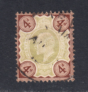 Great Britain 1902-10 Cancelled, Sc# ,SG 236a
