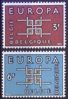 BELGIEN MI-NR. 1320/21 ** MNH - CEPT 1963 - Europa-CEPT