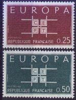 FRANKREICH MI-NR. 1450/51 ** MNH - CEPT 1963 - Europa-CEPT