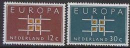 NIEDERLANDE MI-NR. 806/07 ** MNH - CEPT 1963 - Europa-CEPT