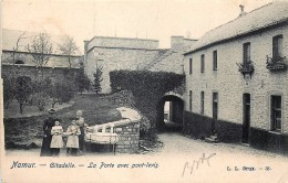 Namur - Citadelle - La Porte Avec Pont-Levis - Edit. L. Lagaert N° 38 - Namur
