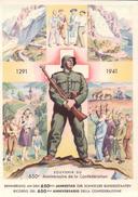 Suisse, Souvenir Du 650e Anniversaire De La Confédération (1291-1941) 10x15 - Other