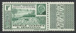 Wallis And Futuna, 1 F. 1941, Sc # 92, MNH - Wallis And Futuna