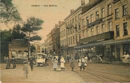Namur - Le Marchand De Glaces Rue Mathieu - Carte Toilée - Namur