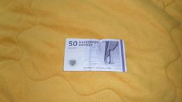BILLET USAGE DE 50 KRONER DE 2009. / DANEMARK. / N°A5091G - Danemark
