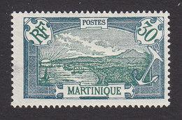 Martinique, Scott #80, Mint Hinged, Scenes Of Martinique, Issued 1908 - Martinique (1886-1947)