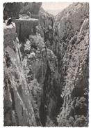 FRANCIA - France - 1957 - 15F - 66 Pyrénées Orientales - SAINT PAUL DE FENOUILLET - Gorges De Galamus - Le Précipice - Francia