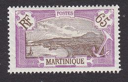 Martinique, Scott #88, Mint Hinged, Scenes Of Martinique, Issued 1908 - Martinique (1886-1947)
