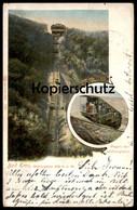 ALTE POSTKARTE BAD EMS WAGEN DER MALBERGBAHN Cpa Ansichtskarte Postcard AK - Eisenbahnen