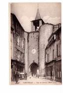 79 Parthenay Tour De L' Horloge Cpa Animée Carte Non Voyagée - Parthenay