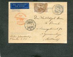 Nederlands-Indië Postcard 1933 54B!!