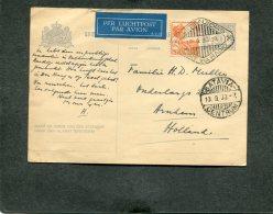 Nederlands-Indië Postcard 1933