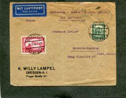 Deutsches Reich Brief Luftpost Zeppelin 1932