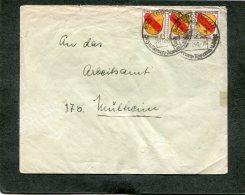 Deutschland Besetzung Franzozische Zone Brief 1946