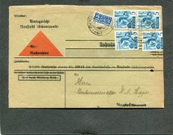 Deutschland Besetzung Franzozische Zone Baden Brief 1947