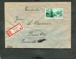 Deutschland Besetzung Franzozische Zone Baden R Brief 1947