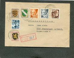 Deutschland Besetzung Franzozische Zone Rheinland Pfalz R Brief 1947