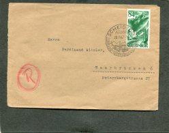 Deutschland Besetzung Franzozische Zone Wurttemberg Brief 1947
