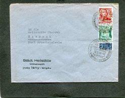 Deutschland Besetzung Franzozische Zone Wurttemberg Brief 1949