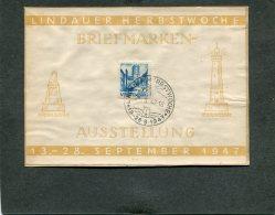 Deutschland Besetzung Franzozische Zone Wurttemberg Biljet 1949