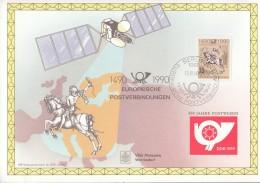 DDR 3299 Auf Sonderblatt, 500 Jahre Postwesen, Postreiter 1990