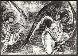 Macedonia Ohrid 1965 / Frieze Of Angels / Fresco In The Church Of St. Sophy - Gemälde, Glasmalereien & Statuen