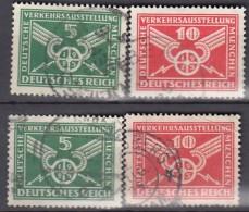 DR  370-371 X+y, Gestempelt, DVA 1925 - Gebraucht