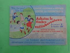 Carnet Timbres Antituberculeux-croix De Lorraine-pub Heudebert-suchard-nestle-javel La Croix-phosphatine-illust ???? - Erinnophilie