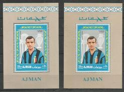 AJMAN - MNH - Sport - Soccer - Perforation Error
