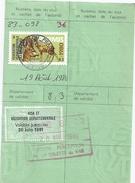 CARTE DE CHASSE 1980.81  VAR  PERCEPTION LA VALETTE DU VAR - Kaarten