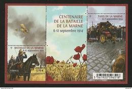 2014 - Bloc Feuillet F4899 Centenaire Bataille De La MARNE N° 4899 NEUF** LUXE MNH