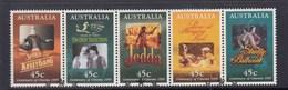 Australia 1995 Centenary Of  Australian Cinema - Strip 5  Used